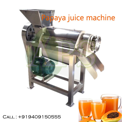 Papaya juice machine