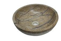 Brown Bidasar Marble Wash Basin