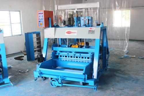 Triple Vibrator Concrete Block Machine