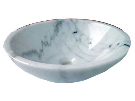 White Marble Wash Basin