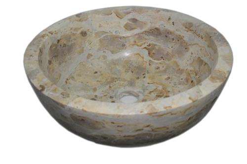 Panther Skin Round Wash Basin