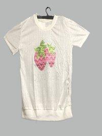 Women Casual Plain T shirt