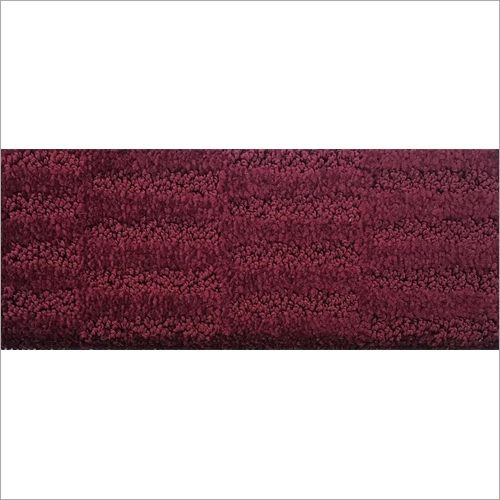 Maroon Hand Tufted Carpet