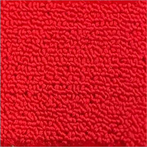 Red Cut Pile Carpet