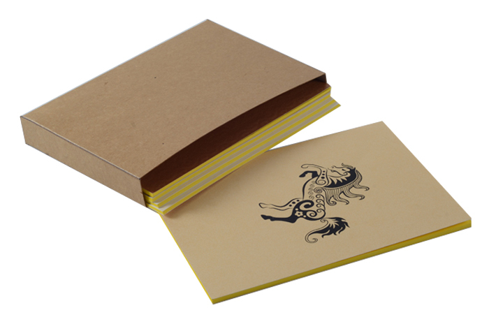 SOFT PASTING PAPER NOTEBOOK (X404)
