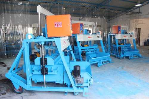 Movable Concrete Block Making Machine