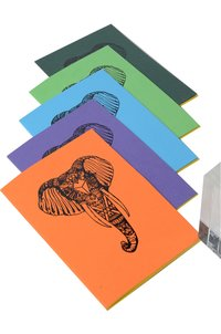 SOFT PASTING PAPER NOTEBOOK (X408)