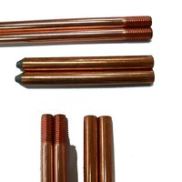 Threaded Copper Bonded Earth Rod