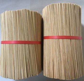 8 Inch China Round Bamboo Stick