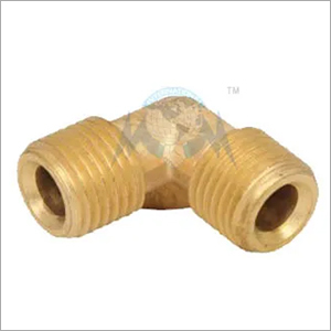 BRASS OLIVE ELBOW MALE
