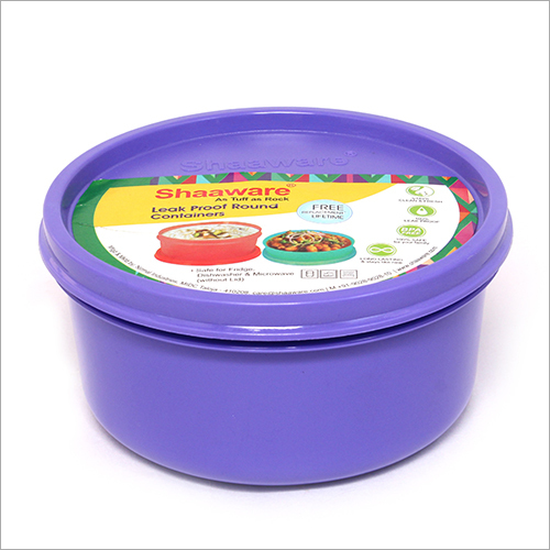 Purple Opaque Tiffin Box
