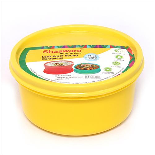 Round Plastic Tiffin Box