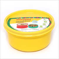 Round Plastic Tiffin Box