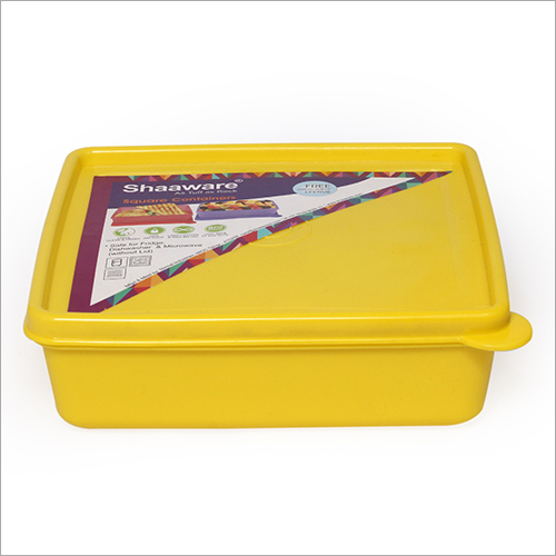 500のML黄色く不透明なTiffinの箱