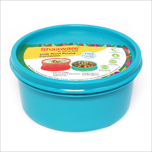 400 ML Blue Opaque Tiffin Box