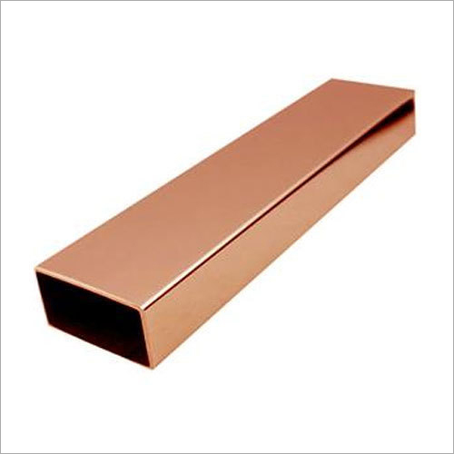 Copper Rectangular Pipe