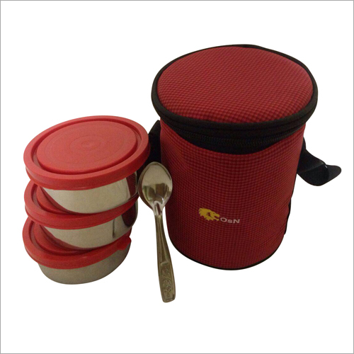 3 Pcs Insulated Lunch Box