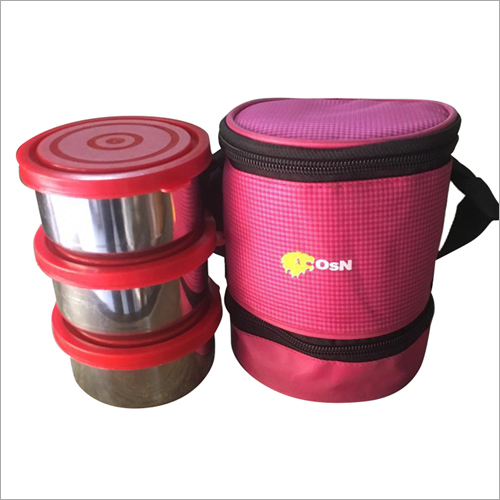 3 pcs Stainless Steel Lunch Box