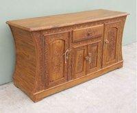 Carved Wooden Cabinet
