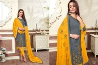 Cotton slub salwar suits