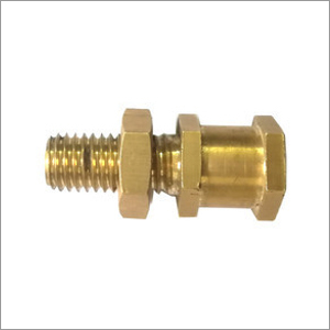 Brass Transformer Hex Nut Stud