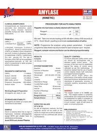 Amylase Kinetic CNPG3