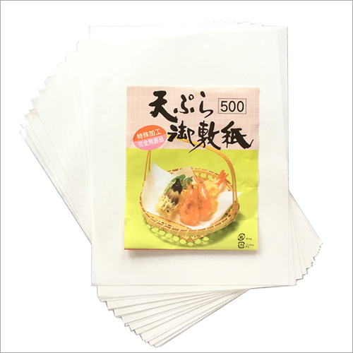 Oily Food Absorbing Sheet