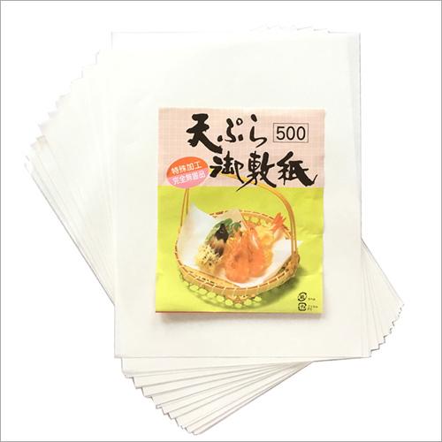 Food Oil Absorbent Sheet
