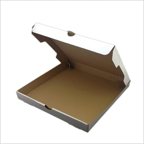 Kraft Paper Plain Pizza Box