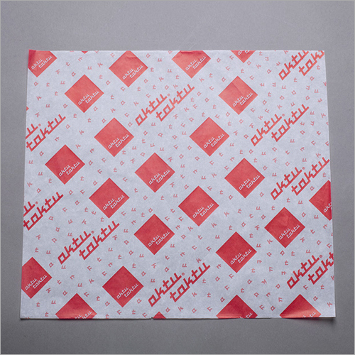 Printed Hamburger Paper