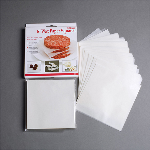 6 Inch Wax Paper