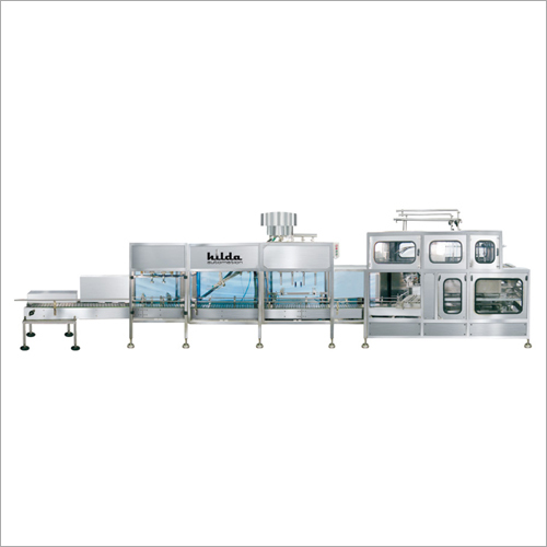 Automatic 5 litre Jar Rinsing Filling And Capping Machine