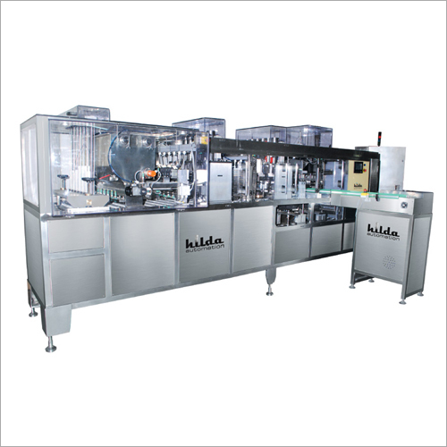 6 Head Filling And Sealing Machine