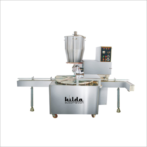 Hopper Piston Filling Machine