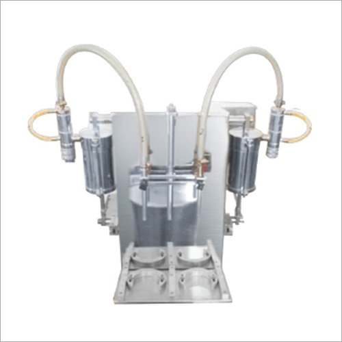 Double Head Semi Automatic Filling Machine