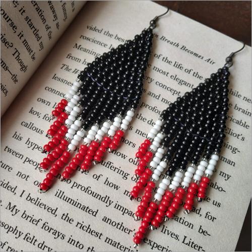 Handmade Ladies Seed Beads Earring