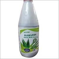 Aloevera with stevia juice