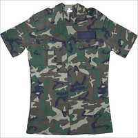 Mens Camouflage Print T Shirt