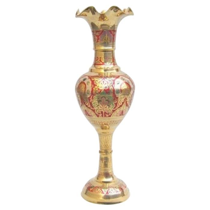 Solid Brass Vase