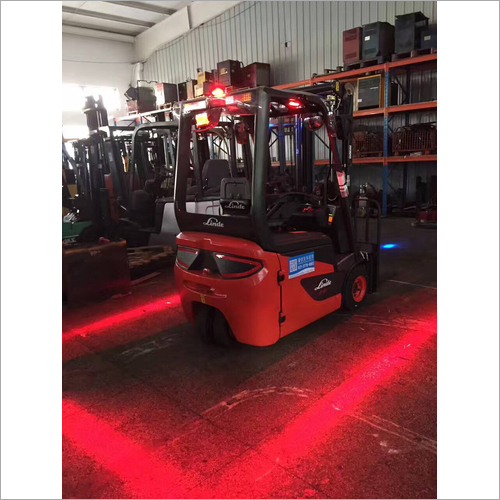 Forklift Red Zone Warning Light