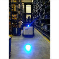 Forklift Bluespot LED Safety Spotlight
