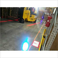 Forklift Bluespot LED Pedestrian Warning Light