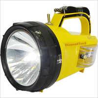10W Diamond LED Waterproof Rechargeable Torch Light