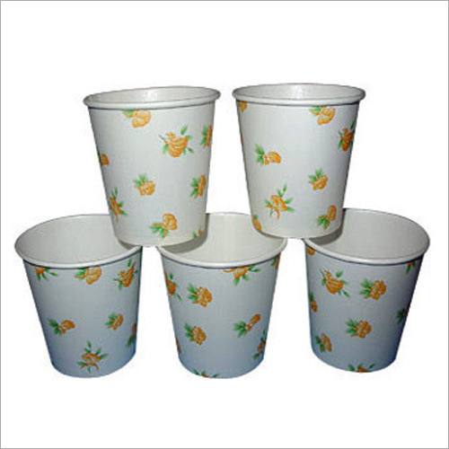 Printed Paper Glass