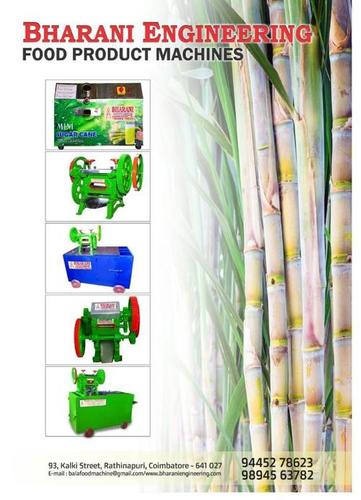 Coimbatore All Kinds of Sugarcane Juice Making Machine