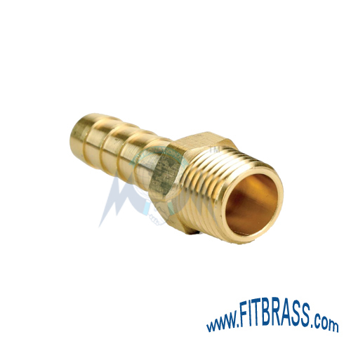 BRASS HOSE NIPPLE MALE
