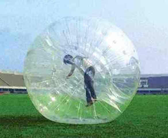 Transparent Zorbing Ball