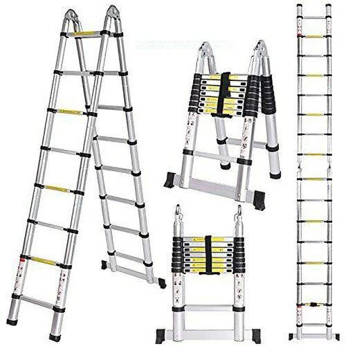 Double Telescopic Ladder 2.5+2.5