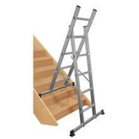 Multipurpose combination ladderScaffold