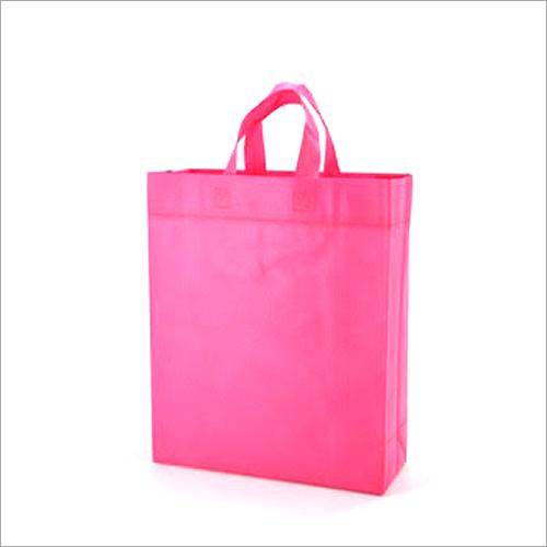 Non Woven Pink Shopping Bags